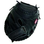 Nokona BS-3250C Buckaroo Black Fastpitch Catchers Softball Glove 32.50 inch