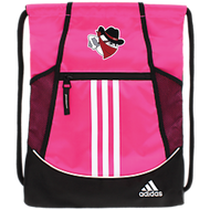Braintree Bandits AAU Adidas Alliance II Sackpack (pink)