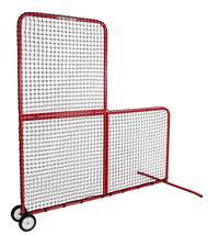 Rawlings L-Screen Batting Practice Net with Wheels
