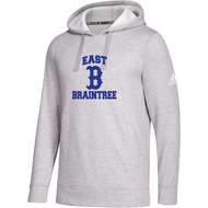 East Braintree Adidas Grey Fleece Hoodie