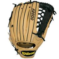 """Wilson A2000 KP92BL Baseball Glove 12.50"""" WTA2000KP92BL"""