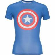 Under Armour Boys Alter Ego Shirt Captain America 1244392-402