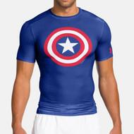 Under Armour Mens Alter Ego Shirt Captain America 1244399-402