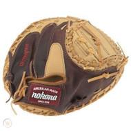 2013 Nokona PL-3200 Pro Line Catchers Baseball Glove 32 inch RARE