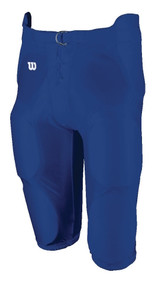 Football Integrated Youth Spandex Game Pant (Royal Blue)