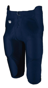 Football Integrated Youth Spandex Game Pant (Navy)