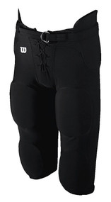 Football Integrated Youth Spandex Game Pant (Black)