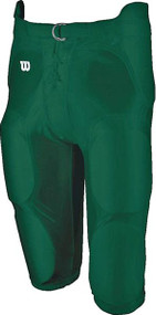 Football Integrated Youth Spandex Game Pant (Forest)
