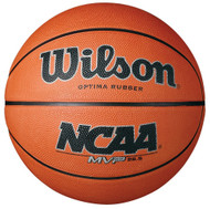 Wilson NCAA MVP Rubber Basketball 28.5