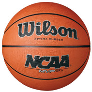Wilson NCAA MVP Rubber Basketball 27.0