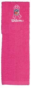 Wilson Hope Pink Football Field Towel