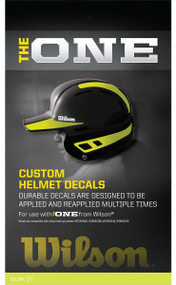 Wilson The One Batting Helmet Decal Kit