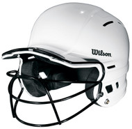 Wilson The One Batting Helmet with Mask