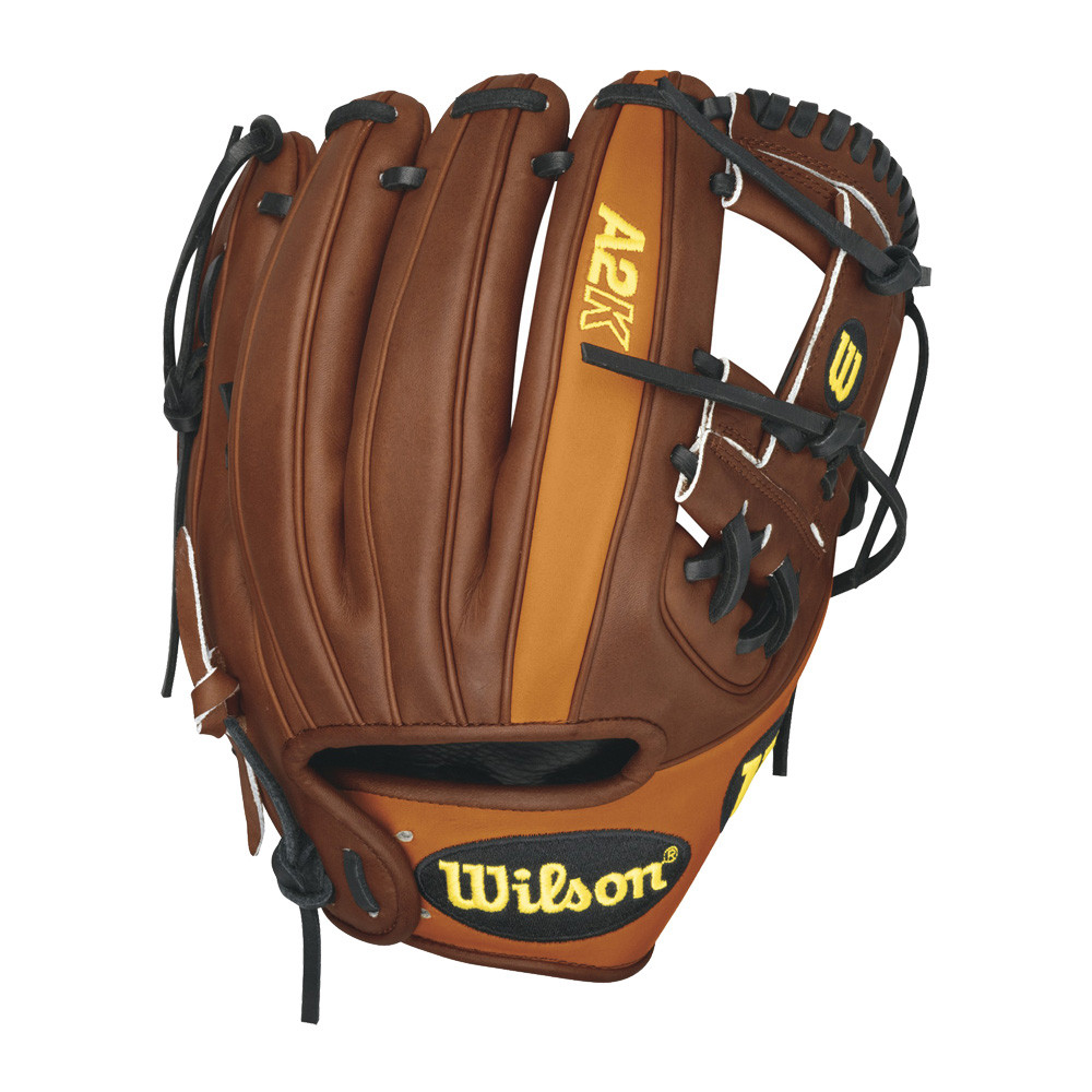 Wilson A2K DP15GM Dustin Pedroia Game Model Baseball Glove 11 50  WTA2KRB15DP15GM