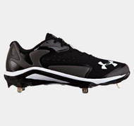 Under Armour Men's UA Yard Low ST Baseball Cleats Black