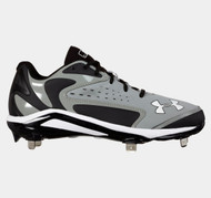 Under Armour Men's UA Yard Low ST Baseball Cleats Gray
