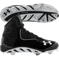 Under Armour Men's UA Spine™ Highlight ST Baseball Cleats Black