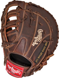 Rawlings Heart of the Hide Solid Core First Base Baseball Glove 12.5 inch PROFBSC-RH