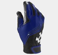 Under Armour Youth UA Clean Up Batting Gloves - Royal