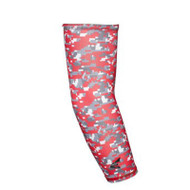 Easton Compression Arm Sleeve Digi Red L/XL