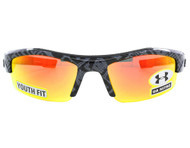Under Armour Kids UA Nitro Sunglasses Shiny Black w Orange Multi