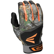 Easton Hyperskin HS7 RealTree Adult Baseball Batting Gloves (Black)