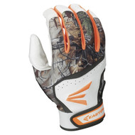Easton Hyperskin HS7 RealTree Adult Baseball Batting Gloves (White)
