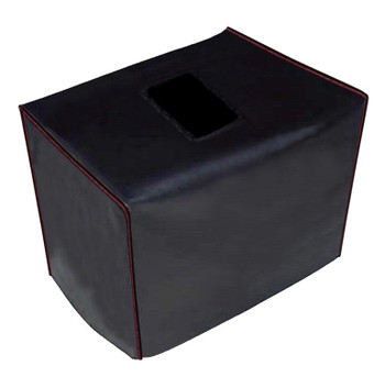 FORTE 3D112 CABINET COVER - BLACK VINYL W/BURGUNDY PIPING
