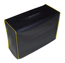 AIKEN 112 CABINET COVER - BLACK VINYL W/YELLOW PIPING