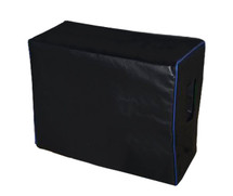 ASHDOWN ABM 210H CABINET COVER - BLACK VINYL W/BLUE PIPING