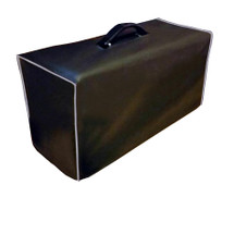 BOGNER ATMA HEAD (WOOD CABINET) COVER - BLACK VINYL W/GRAY PIPING