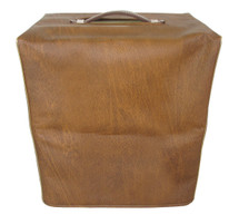 JACKSON AMPWORKS NEWCASTLE 30 1X12 COMBO COVER - BROWN VINYL W/GOLD PIPING (JACK005)
