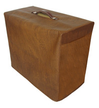 MAGNATONE 413 1X12 COMBO COVER - VINTAGE BROWN VINYL WITH SIDE POCKET