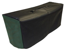 MARSHALL MA100H HEAD COVER - BLACK VINYL WITH GREEN SIDES