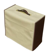 SWART AST MASTER COMBO COVER - BLONDE VINYL W/BROWN SIDES AND GOLD PIPING