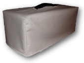 65 Amps Apollo Bass Head Cover in white