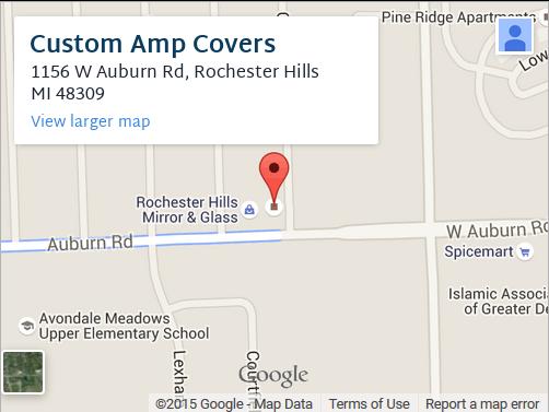 Custom Amp Covers Map