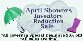 Shop Our April Showers Inventory Reduction Sale