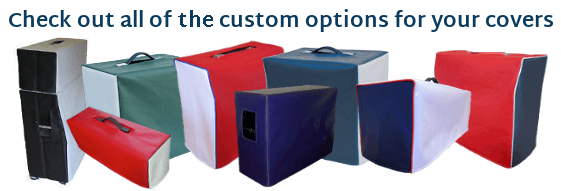 Check out all of our custom options for your covers