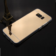 Premium Electroplated Candy Skin Cover for Samsung Galaxy S8 Plus - Gold