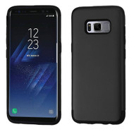 Slim Armor Multi-Layer Hybrid Case for Samsung Galaxy S8 Plus - Black