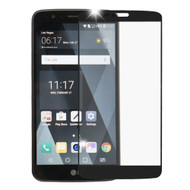 Premium Full Coverage 2.5D Tempered Glass Screen Protector for LG Stylo 3 / Stylo 3 Plus - Black