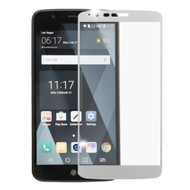 Premium Full Coverage 2.5D Tempered Glass Screen Protector for LG Stylo 3 / Stylo 3 Plus - Silver