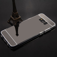 Premium Electroplated Candy Skin Cover for Samsung Galaxy S8 - Jet Black