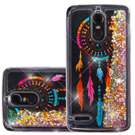 Quicksand Glitter Transparent Case for LG Stylo 3 / Stylo 3 Plus - Dreamcatcher