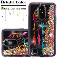 *SALE* Quicksand Glitter Transparent Case for LG K20 Plus / K20 V / K10 (2017) / Harmony - Dreamcatcher