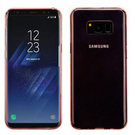 *Sale* Rubberized Crystal Case for Samsung Galaxy S8 Plus - Rose Gold