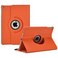 *SALE* 360 Degree Smart Rotary Leather Case for iPad (2018/2017) / iPad Air - Orange