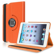 *SALE* 360 Degree Smart Rotary Leather Case for iPad (2018/2017) / iPad Air - Orange