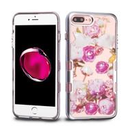 TUFF Panoview Transparent Hybrid Diamond Case for iPhone 8 Plus / 7 Plus - Roses
